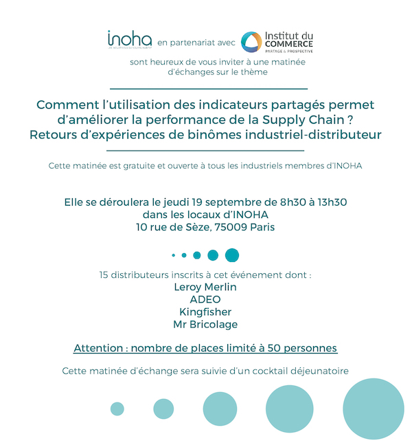 Supply Chain - Table Ronde Industriels / Distributeurs
